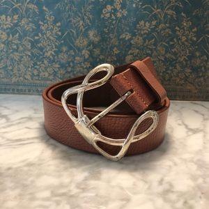 Dillard's Designs Leather Belt